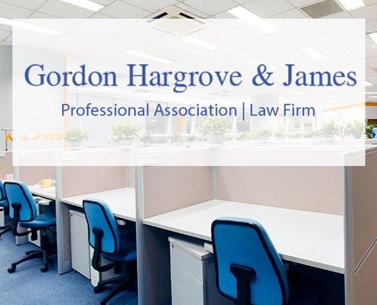 GORDON HARGROVE & JAMES